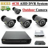 1080N HDMI DVR 1200TVL 720 P HD Outdoor Thuis Bewakingscamera 4CH CCTV Video Surveillance DVR Kit AHD Camera Set