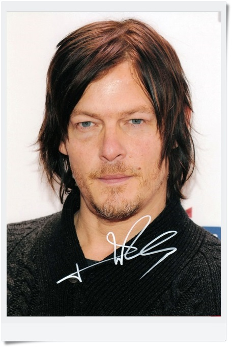 ламинат norman norman тик ностальгия графит 33 класс signed Norman Reedus autographed  original photo 7 inches freeshipping  3 versions 082017