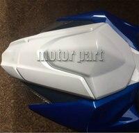 For 2009 2015 Suzuki GSXR1000 GSXR 1000 K9 Motorcycle Pillion Rear Seat Cover Cowl White 2012