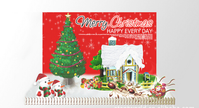 2019 25x19cm Multicolor Magical Grow Paper Christmas Home Box Tree Magic Growing Trees Kids Discovery Toys Science For Children