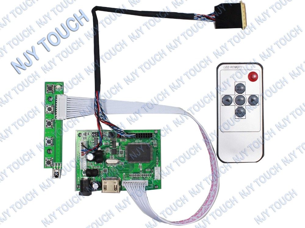HDMI Remote LCD Controller Driver Board kit For 15.6inch B156XW02 V.2 B156XW04 1366x768 LCD Panel
