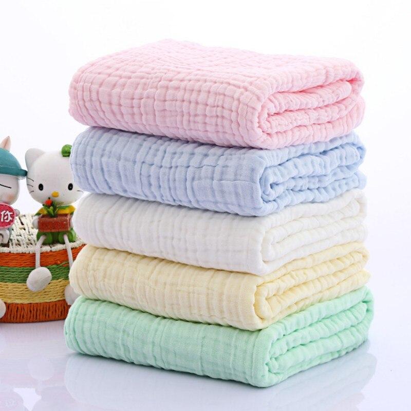 105x105cm Newborn Baby Kids Soft Cotton Bath Towel Infant Sleeping Wrap Blanket High Quality