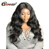 150 плотность 360 кружево фронтальной волос, парики предварительно сорвал с ребенком волос для черных Для женщин сплетни тела волны индийског...
