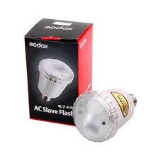 Godox A45s lampes clignotantes électroniques studio Photo lumière stroboscopique AC esclave Flash ampoule E27 A45S