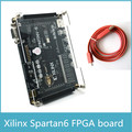 Tarjeta de desarrollo fpga Xilinx spartan fpga Xilinx spartan6 XC6SLX9 con 256 Mb SDRAM FLASH EEPROM tarjeta SD Cámara VGA