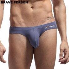 BRAVE PERSON Sexy Men Underwear Briefs U convex Big Penis Po