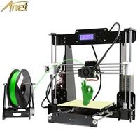 Anet A8 Desktop Auto Leveling Impresora 3D Printer DIY Kit 3D Printers Aluminum Hotebed 0.4mm Nozzle With 10m Filament SD Card