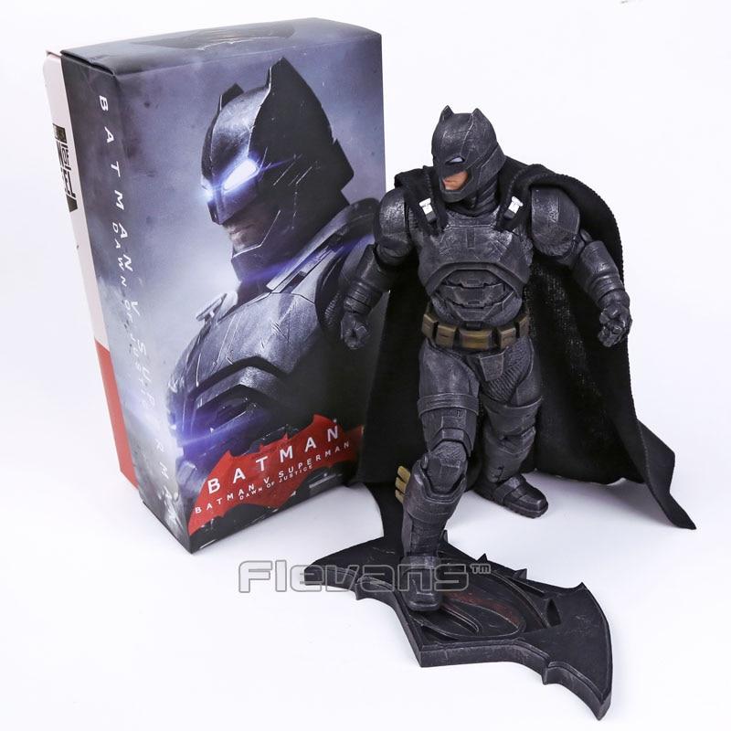 Сумасшедшие игрушки Бэтмен против Супермена: на заре справедливости Темная ночь Бэтмен бронированный/Blinde 1/6TH масштаб коллекционные Рисуно...