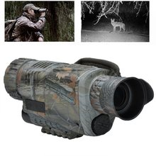 Wholesale prices 5×42 HD Monocular Night Vision Telescope Infrared Instrument Camera Video Camouflage Binculars For Hunting