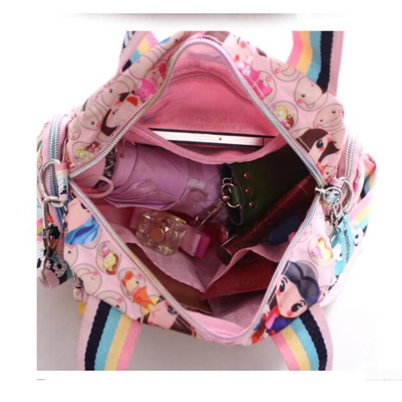 Uus Harajuku Doll veekindel nailonist käekott, kott, kott, üks - Käekotid - Foto 6