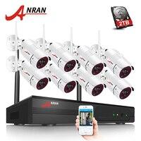 Plug And Play 8CH CCTV System Wireless NVR Kit P2P 720P HD IR WIFI IP Camera