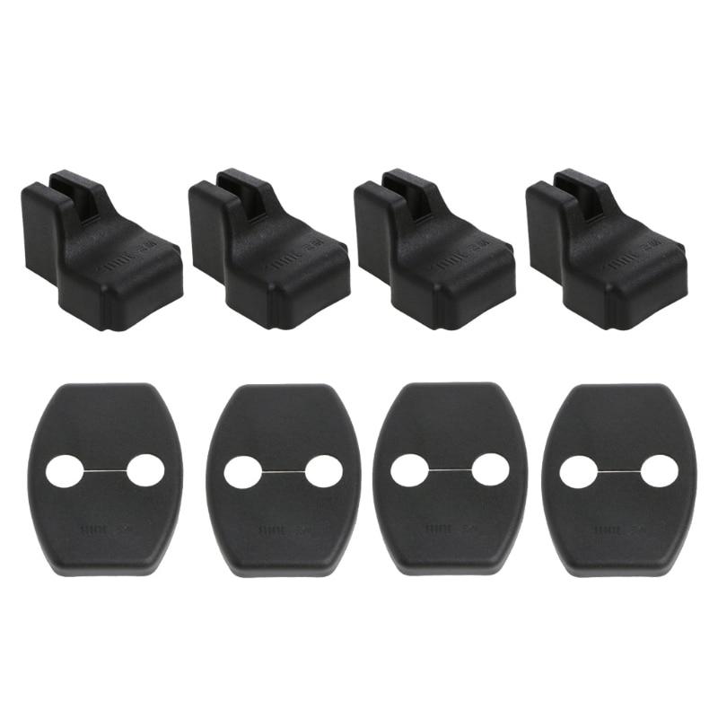 Car Door Lock Cover Stopper Protection For Skoda Octavia A7 Fabia Rapid Superb ABS Door Lock Protective Cover