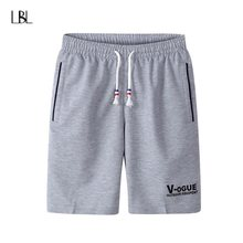 Summer Solid Shorts Men Fashion Brand Short Pants Hombre Casual Comfortable Fitness Mens Bodybuilding bermuda masculina 4XL 2018(China)