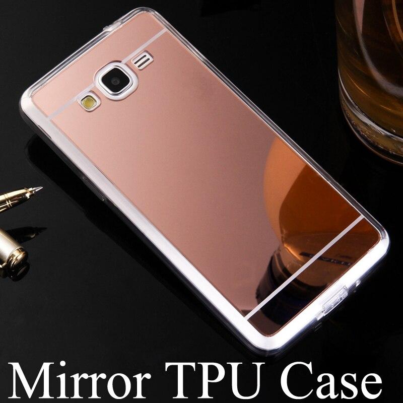 Phone Case For Samsung Galaxy J1 J2 J3 J5 J7 Mini Prime Emerge 2016 2017 Version Electroplating Mirror TPU Mobile Cover Cases
