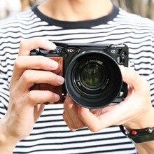 SmallRig 6500 клетка для камеры комплект для sony A6500 камера с деревянной ручкой крепление A6500 клетка стабилизатор 2097