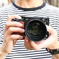 Smallrig 6500 kit gaiola da câmera para sony a6500 câmera com alça de madeira forma aderência montagem gaiola estabilizador a6500 2097