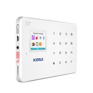 Image 4 - KERUI חדש G183 WCDMA 3 גרם אלחוטי אבטחת בית GSM 3 גרם מעורר מערכת APP מרחוק בקרת פורץ Pir תנועת חיישן מעורר