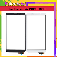 10Pcs/lot For Huawei Y5 PRIME 2018 DRA-L02 DUAL DRA-L22 Touch Screen Panel Sensor Digitizer Front Glass Outer Lens DRA-L01