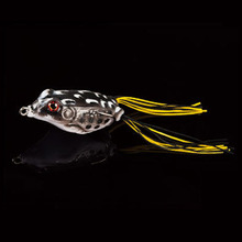 WALK FISH 1PCS Frog Fishing Lure 5.5CM/13G Topwater Artificial Bait Soft Lure For Bass Snakehead Fishing