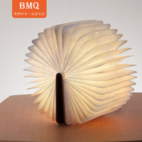 Multifunctional App Control Speaker LED Book Lamp with Bluetooth Colorful Night Light Speaker