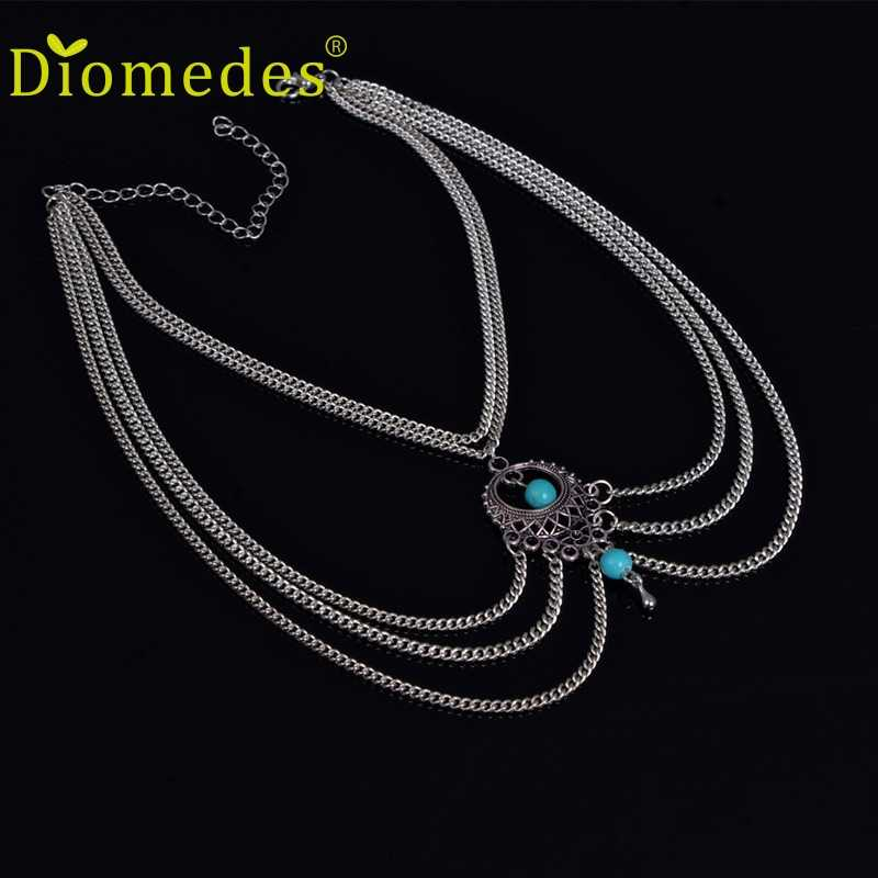 Diomedes HOT Fashion Women  Bead Upper Arm Armlet Tassels Chain Bracelet Cuff Jewelry ,Luxury and Casual Bracelet