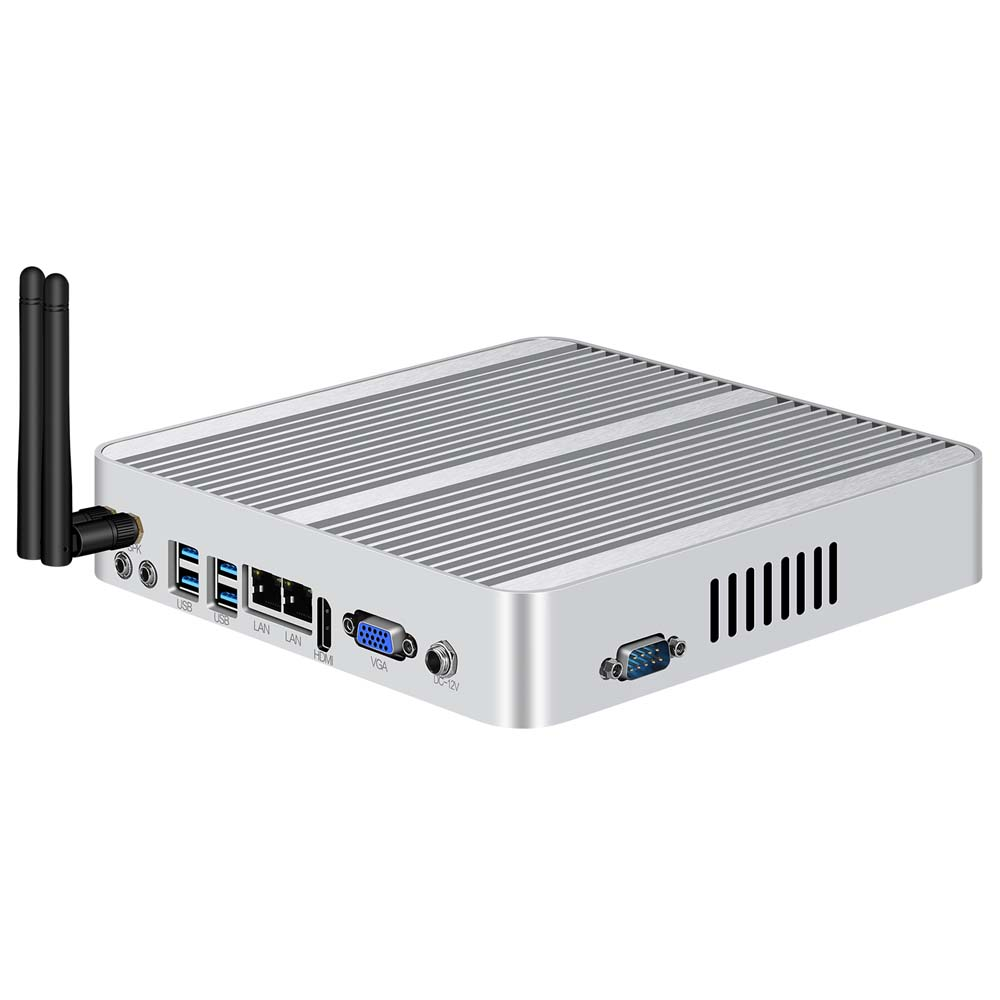Core i7 5500U i5 4200U XCY Mini PC Windows 10 dual LAN HDMI VGA port mini HTPC mini computer 2955U 3G/4G module 2.5inch HDD-in Mini PC from Computer & Office