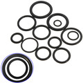 100PCS Black Assortment Car Air Condition Rubber Ring O-Rings Seal A/C Repair Automotive AC Pipe Tool Joint Seal Rings