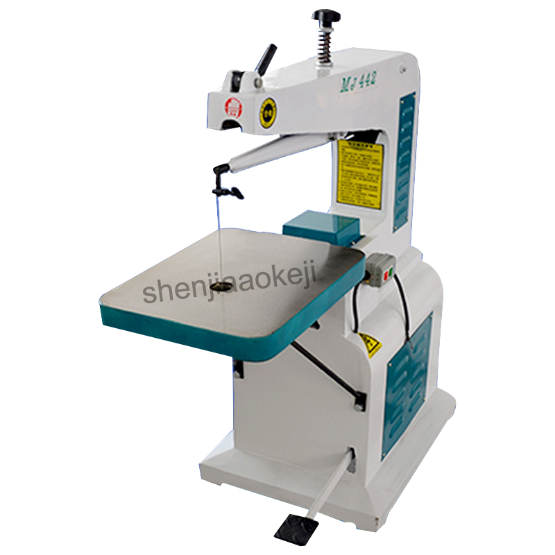 professional and solid high speed scroll saw wire saw woodworking machine fretsaw Desktop pull flower sawing machine 380V 750W home multifunction woodworking saw sawing engraving machine disc plate sawing woodworking tools