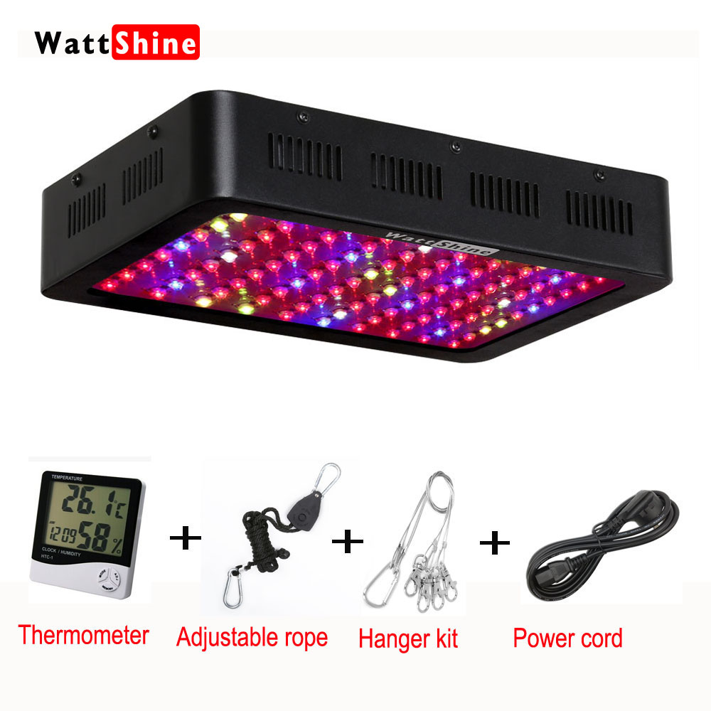 Whole hot seller 300W Led Grow Lights Led plant lamps for indoor Greenhouse hydroponic systems grow tent Full spectrum CE\ROHS