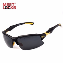 MEETLOCKS Bike Cycling Glasses Sports Sunglasses UV 400 Polarized Lens for Fishing Golfing Driving Running Eyewear with case