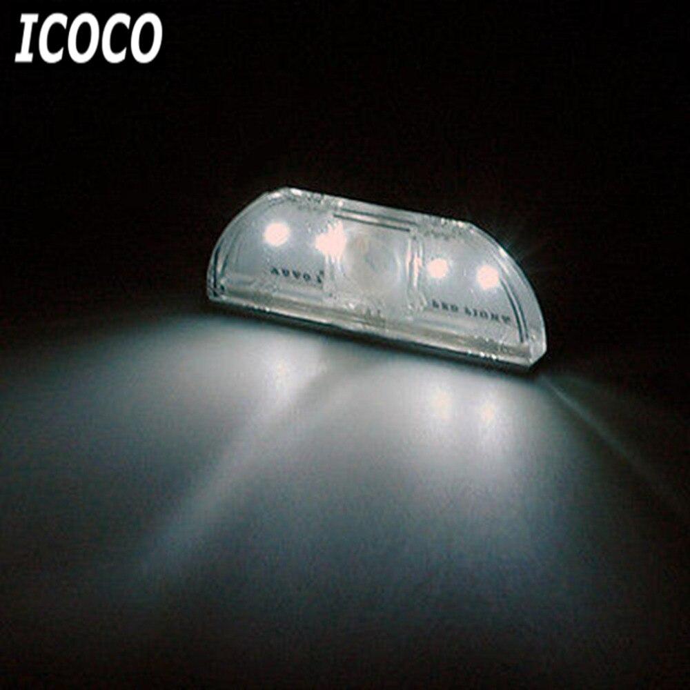 Luzes da Noite sem fio de pir auto Color : Silver