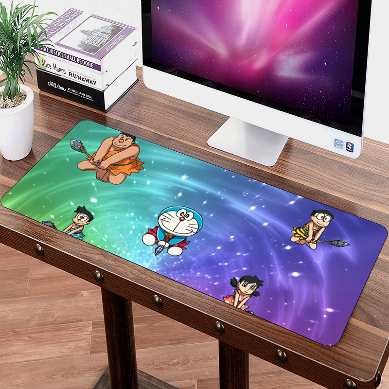 SIANCS 70x30cm gaming mouse pad mat cartoon Doraemon Anime MousePad Fashion Laptop Notebook Mat XL