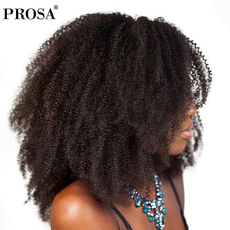Clip In Human Hair Extensions 4b 4c Afro Kinky Curly Clip Ins Brazilian Remy Hair Full Head 7