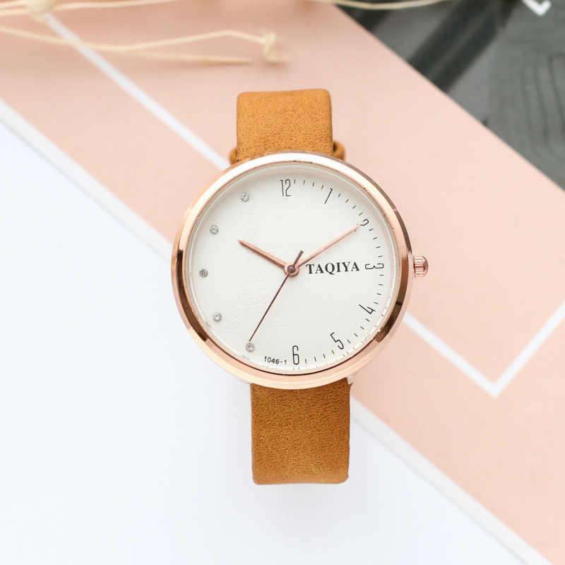 2019 nuevo reloj de moda simple estudiante ver pequeño creativa simple parejas Regalo de Cumpleaños de chico reloj
