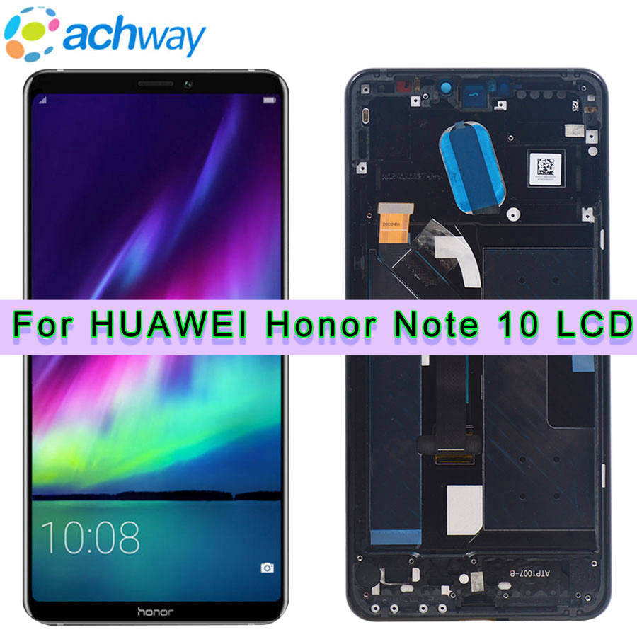 6.95 Huawei Honor Note 10 LCD Note10 Display Touch Screen Digitizer Assembly Frame Replacement Huawei Honor Note 10 LCD Screens6.95 Huawei Honor Note 10 LCD Note10 Display Touch Screen Digitizer Assembly Frame Replacement Huawei Honor Note 10 LCD Screens