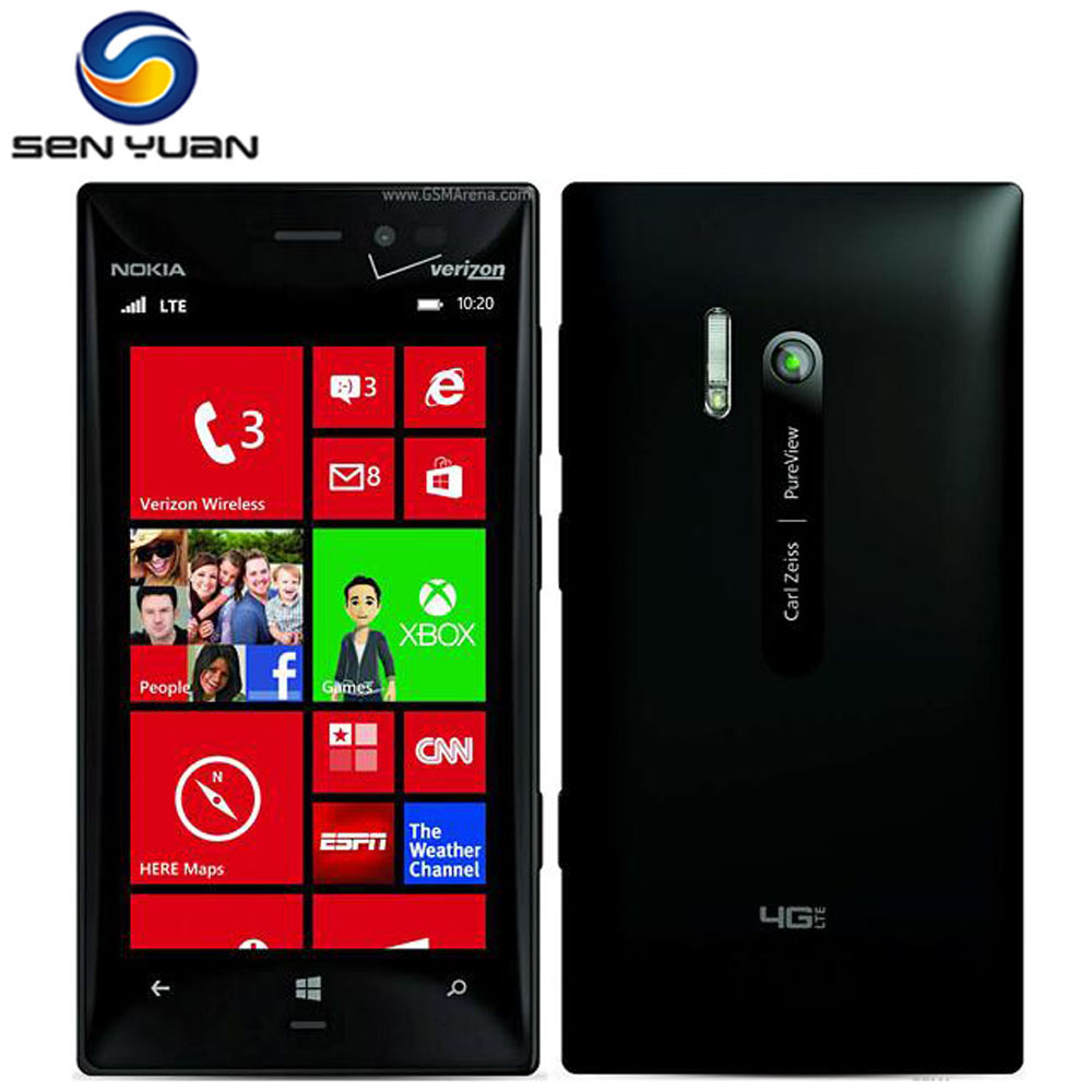 bilder für Original Nokia Lumia 928 entsperrt Windows Phone 4,5 ''Dual Core 1,5 GHz 32 GB ROM 8,0 MP 3G handy entsperrt