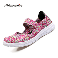 Plardin 2017 Summer Women S Flat Sandals Shoes For Women Jelly Shoes Hallow Out Breathable Beach