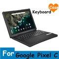 """Para Google Pixel C 10.2 """"caja de la Tableta de Negocios Portable Del Bluetooth con LA PU Cubierta de Cuero"""