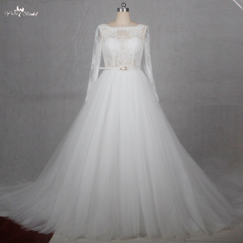 R 113441 Rsw1128 Boat Neck Tulle Saia De Renda Sem Encosto Vestido Branco Longo China Vestidos De Casamento Do Laço Do Vintage Vestido De Noiva