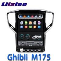 LiisLee Car Multimedia GPS HiFi Audio Radio Stereo For Maserati Ghibli M157 2013~2018 Original Style Navigation NAVI