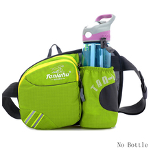 Waterproof nylon Multifuntictional Outdoor Sport Running bag Cycling Climbing sport waist bag water bottle belt bag G0080