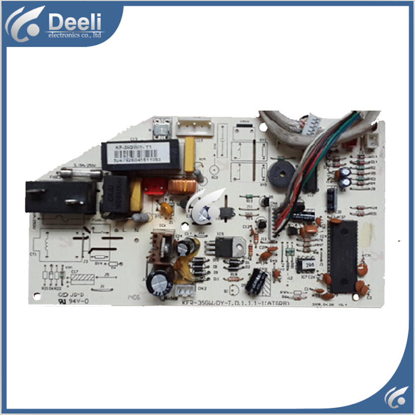 95% new good working for Midea air conditioning board KF-35GW/Y-T1 KF-35GW/Y-T control board good working original used for power supply board led50r6680au kip l150e08c2 35018928 34011135