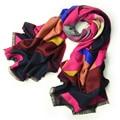 Hot 2016 Red Echarpe a cuadros bufanda de cachemira bufanda tartán Wraps Winter para chales y bufandas 190 * 65 cm / 330 g