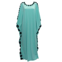Tilapia New Casual Design Kaftan Women Dress Plus Size African Style Femme Vestidos Maxi Long Summer