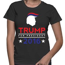 WOMENS Donald Trump For President 2016 T-shirt