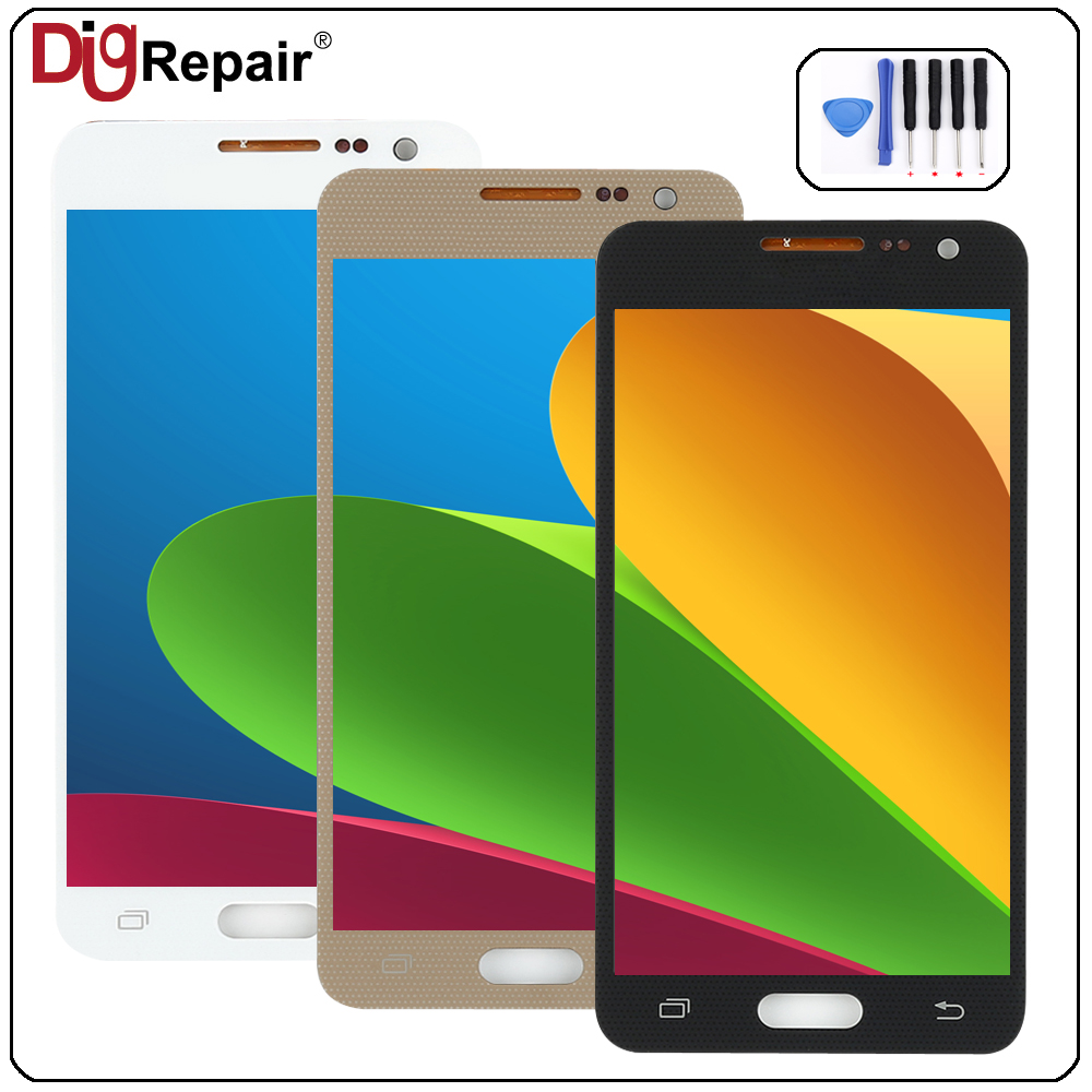 a300f lcd For SAMSUNG Galaxy A3 2015 lcd A3000 A300M A300F LCD Display Touch Screen Digitizer Glass Assembly Replacement Parts