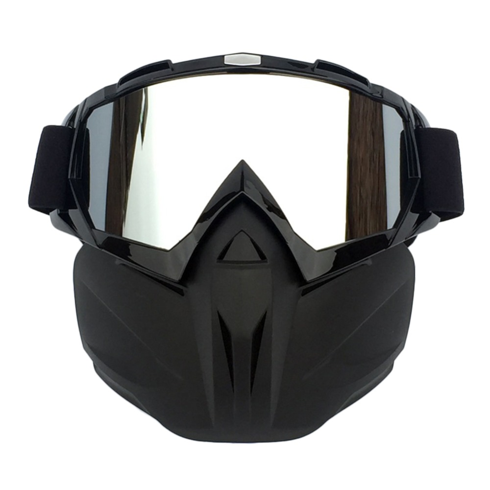 Skiing Eyewear Winter Windproof Motocross Sunglasses Snow Ski Glasses Snowmobile Goggles skiing Mask Snowboard Glasses Eyewear in Skiing Eyewear from Sports Entertainment