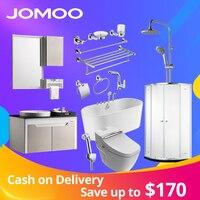 JOMOO набор оборудования для ванны бассейна смеситель для душа набор ванна ванная комната кабинет сантехники костюм Туалет чаша стены бумага