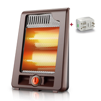 High Quality Electric Heater 2 Gear Air Heater Low Noise Warm Air Handy Blower Room Fan Radiator Warmer For Office Home Hotel