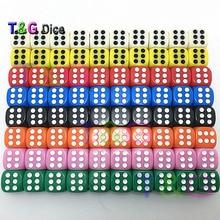 8 цветов 14*14*14 мм казино d6 кости со стандартными точками, алкоголь, азартные игры клуб бар игрушки, Новинка Кубики для развлечений